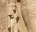 Abu Simbel temple bottom statue.jpg