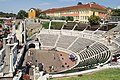 Academy of Music, Dance and Fine Arts and Ancient Roman Theatre, Plovdiv.jpg