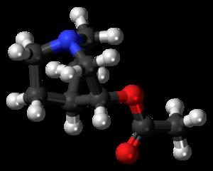 Aceclidine - Image: Aceclidine 3D ball