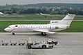 Ada Air (Donbass - Eastern Ukrainian Airlines) Yakovlev Yak-42D UR-42377 (25029337382).jpg