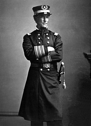 Adm. David G. Farragut, ca. 1863 Mathew Brady ...