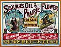 Advertisement for Sequah's Oils and prarie Flower. Wellcome L0016610.jpg