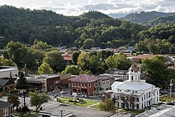 Downtown Bryson City, North Carolina