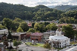 Bryson City, North Carolina - Downtown Bryson City, North Carolina