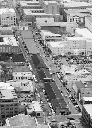 City Market (Charleston, South Carolina) - Aerial view of the market