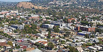 Highland Park, Los Angeles - from Monte Vista to 110 freeway