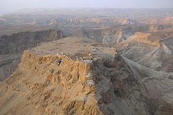 Aerial view of Masada (Israel) 02.jpg