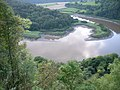 Aerial view of River Wye from Woodcroft - geograph.org.uk - 1163370.jpg