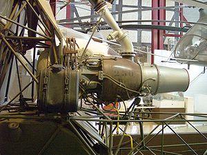 Sud-Ouest Djinn - A preserved Turbomeca Palouste IV turbo-compressor