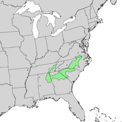 Aesculus sylvatica range map 1.png