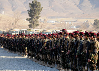 Afghan National Army Commando Corps - 7th Commando Kandak (Battalion) in 2010