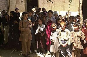 Bagram - Bagram school children
