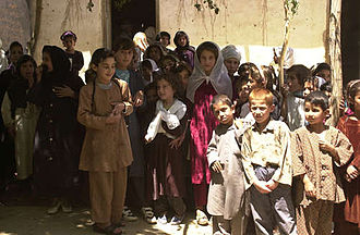 Bagram - Bagram school children