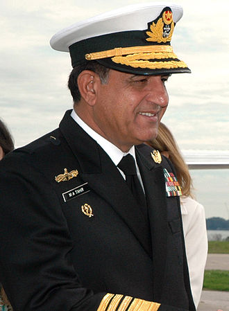 Chief of Naval Staff (Pakistan) - Image: Afzal Tahir