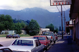 Agassiz, British Columbia - A view of the mountains from Agassiz, BC.