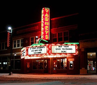 Aggieville - Varneys was an iconic store located at the west end of Aggieville.