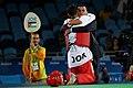 Ahmad Abughaush, 2016 Summer Olympics in Rio de Janeiro, men's 70 kg,.jpg