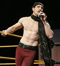 Aiden English WWE Axxess 2014.jpg