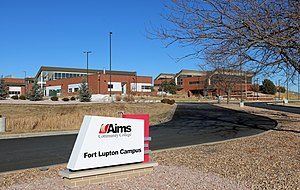 Aims Community College - The Fort Lupton Campus.