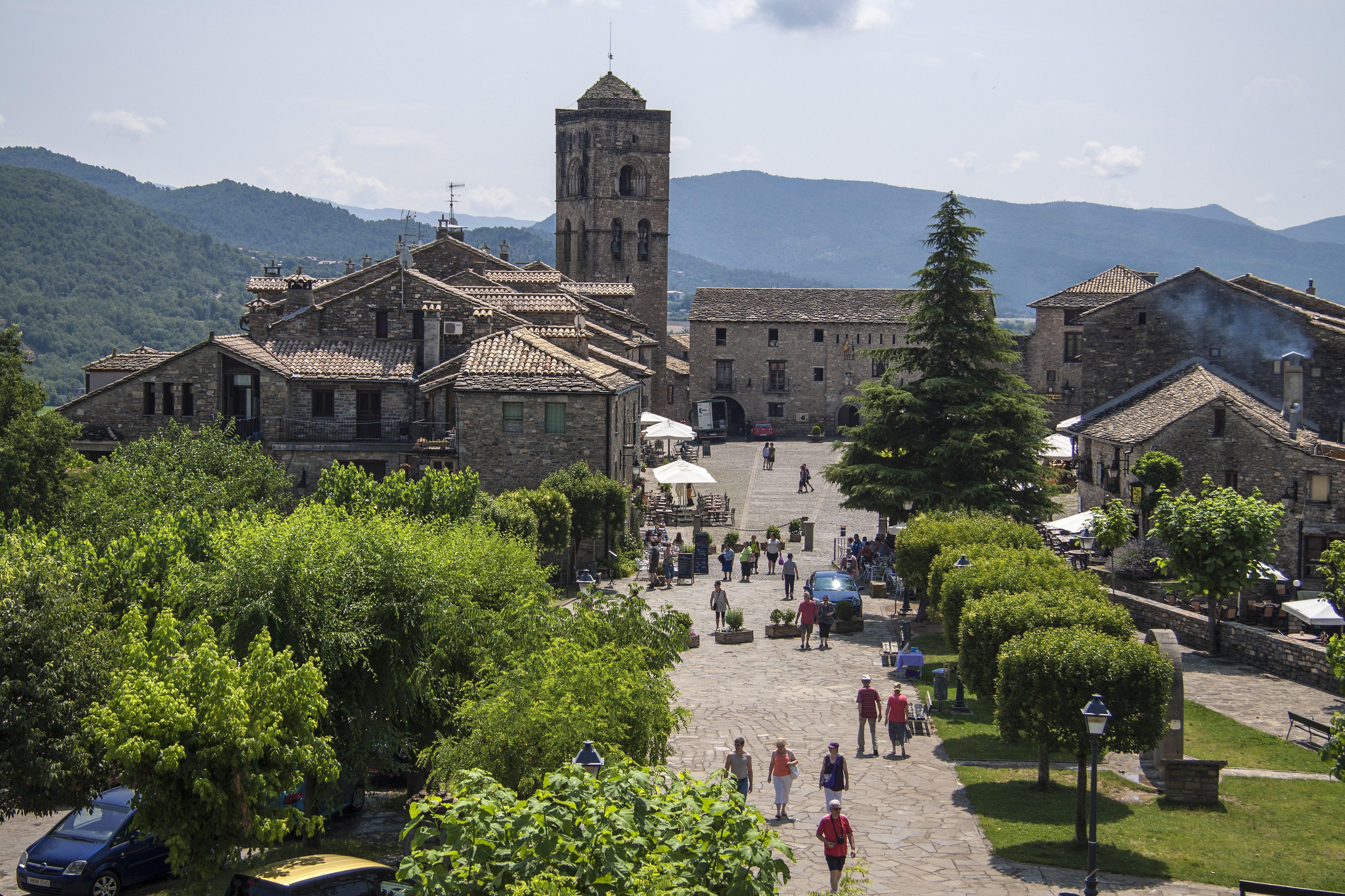 Aínsa-Sobrarbe - Carte - Aragon, Espagne - Mapcarta