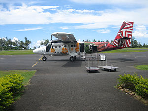 Moorea Airport - Air Moorea aircraft at Moorea Airport