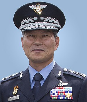 Joint Chiefs of Staff (South Korea) - Image: Air Force (ROKAF) General Jeong Kyeong doo 공군대장 정경두 (UNC CFC USFK photo 170625 A HU462 383)