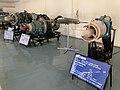Aircraft Engines at display - Hindustan Aeronautics Limited Heritage Centre and Museum (Ank Kumar) 05.jpg