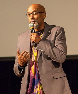 Ajamu Baraka - Image: Ajamu Baraka at Oct 2016 Berkeley rally for Jill Stein 4 (cropped)