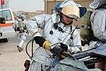 Al Udeid firefighters, medics prepare for mass casualty incidents.jpg