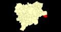 Albacete Caudete Mapa municipal.png
