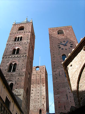 Albenga - Towers of Albenga.
