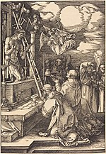 Albrecht Dürer, The Mass of Saint Gregory, 1511, NGA 6791.jpg