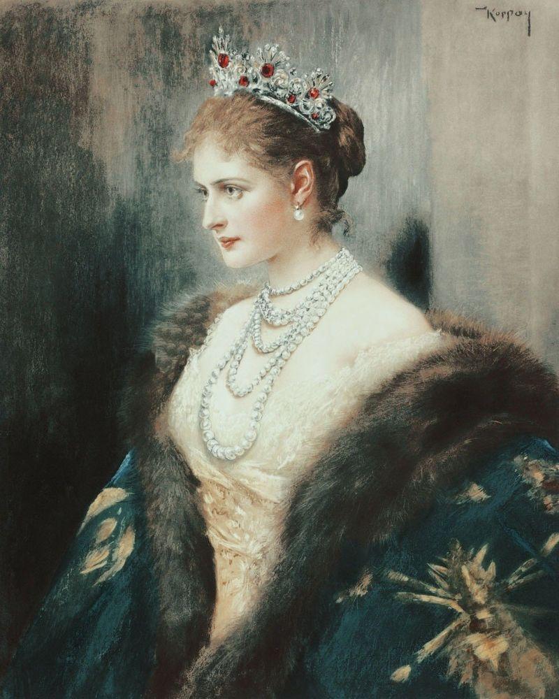 Alekszandra Fjodorovna orosz cárné – Koppay József Árpád.jpg