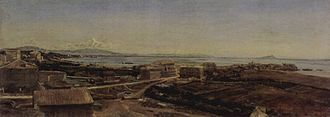 Torre del Greco - Torre del Greco near Pompeii, Alexander Andreyevich Ivanov, 1846.