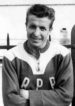 Alexandru Apolzan - Apolzan in 1955