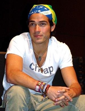 Alfonso Herrera - Poncho in Brazil, 2006