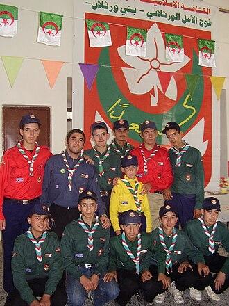 Algerian Muslim Scouts - Algerian Scout group, 2008