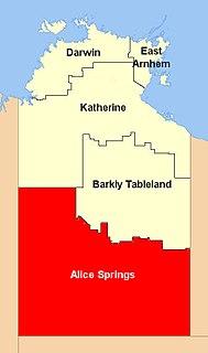 Barkly Tableland Region in the Northern Territory, Australia