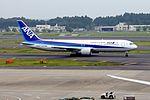 All Nippon Airways Boeing 767-381-ER (JA609A-32978-888) (19945905673).jpg