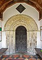 All Saints, Chedgrave, Norfolk - Doorway - geograph.org.uk - 1499587.jpg