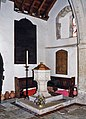 All Saints, Newchurch - Font - geograph.org.uk - 1155184.jpg
