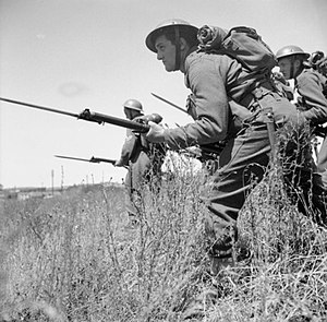 Free Belgian forces - Belgian soldiers on manoeuvers in Wales, July 1941