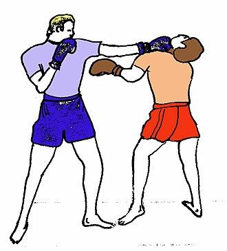 Punch (combat) - Image: Allongecolor