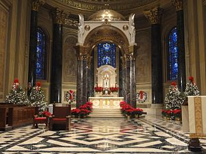 Cathedral Basilica of Saints Peter and Paul (Philadelphia) - High Altar and baldachin