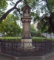 Altes Bach-Denkmal in Leipzig