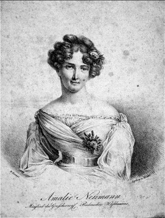 Anton Haizinger - Amalie Haizinger, c.1830