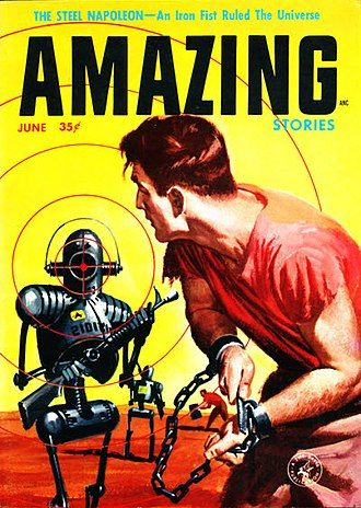 "Harlan Ellison - A few months later, another Ellison novella, ""The Steel Napoleon"", also took the cover of Amazing. It also remains uncollected."