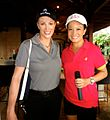 American Actress Angie Everhart and Jen Su in South Africa.jpg