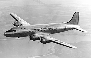 Douglas DC-4 Four-engine propeller-driven airliner