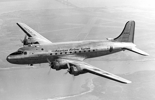 Technological developments in aircraft during the second world war, subsequently led to more economical air travel, consequently democratising air travel